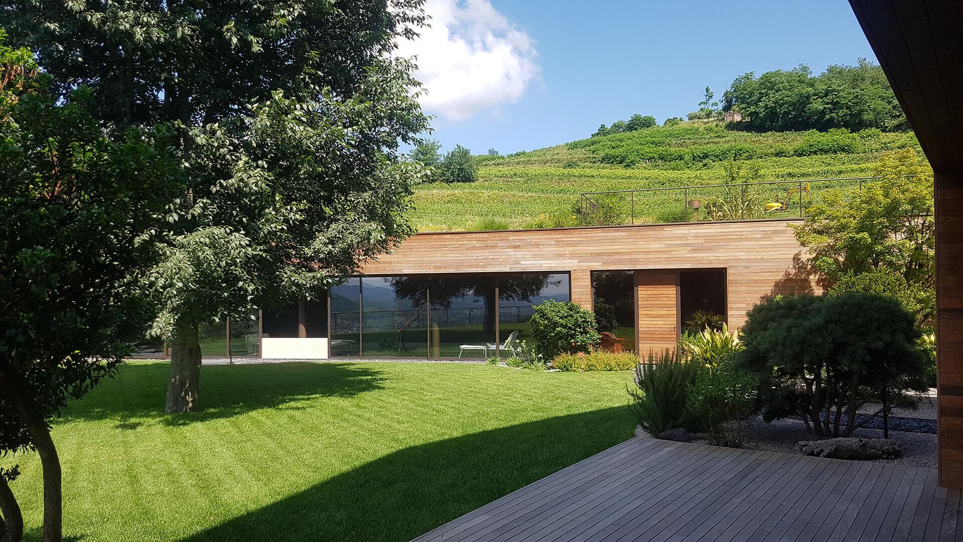 progettazione e realizzazione giardini vicenza - verde blu
