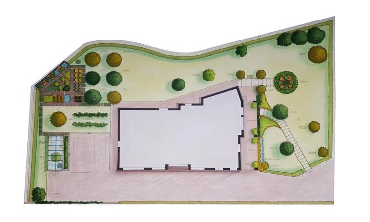 progettazione giardini e parchi verde blu vicenza