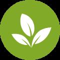 simbolo erba verde
