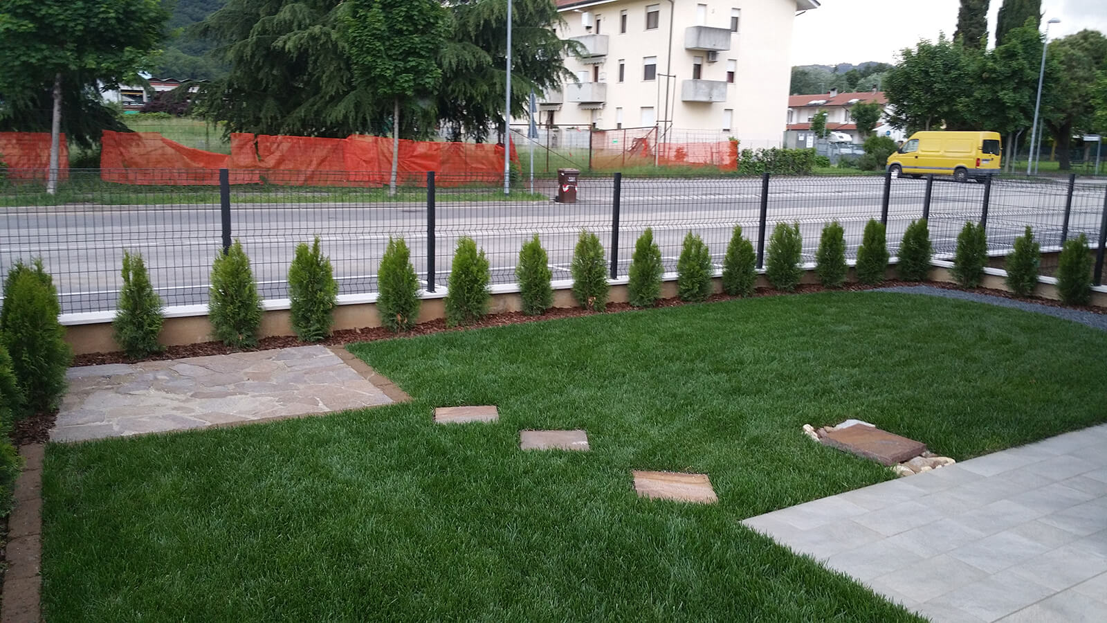 progettazione realizzazione giardini isola vicentina - verde blu giardini 2