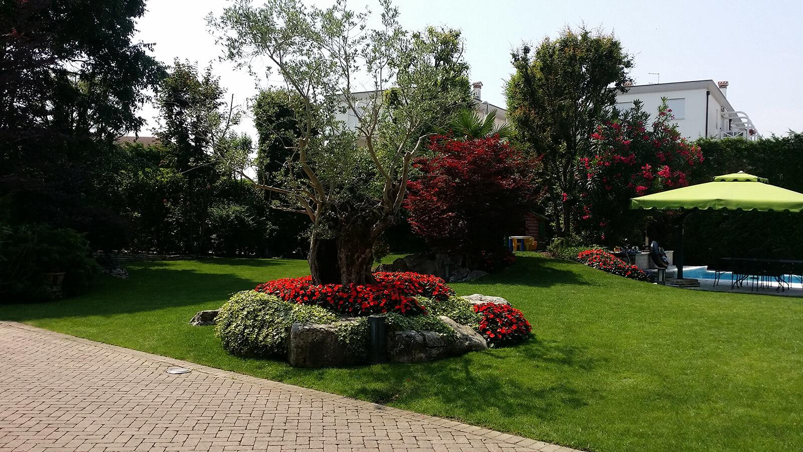 progettazione realizzazione giardini monticello conte otto - verde blu giardini 12