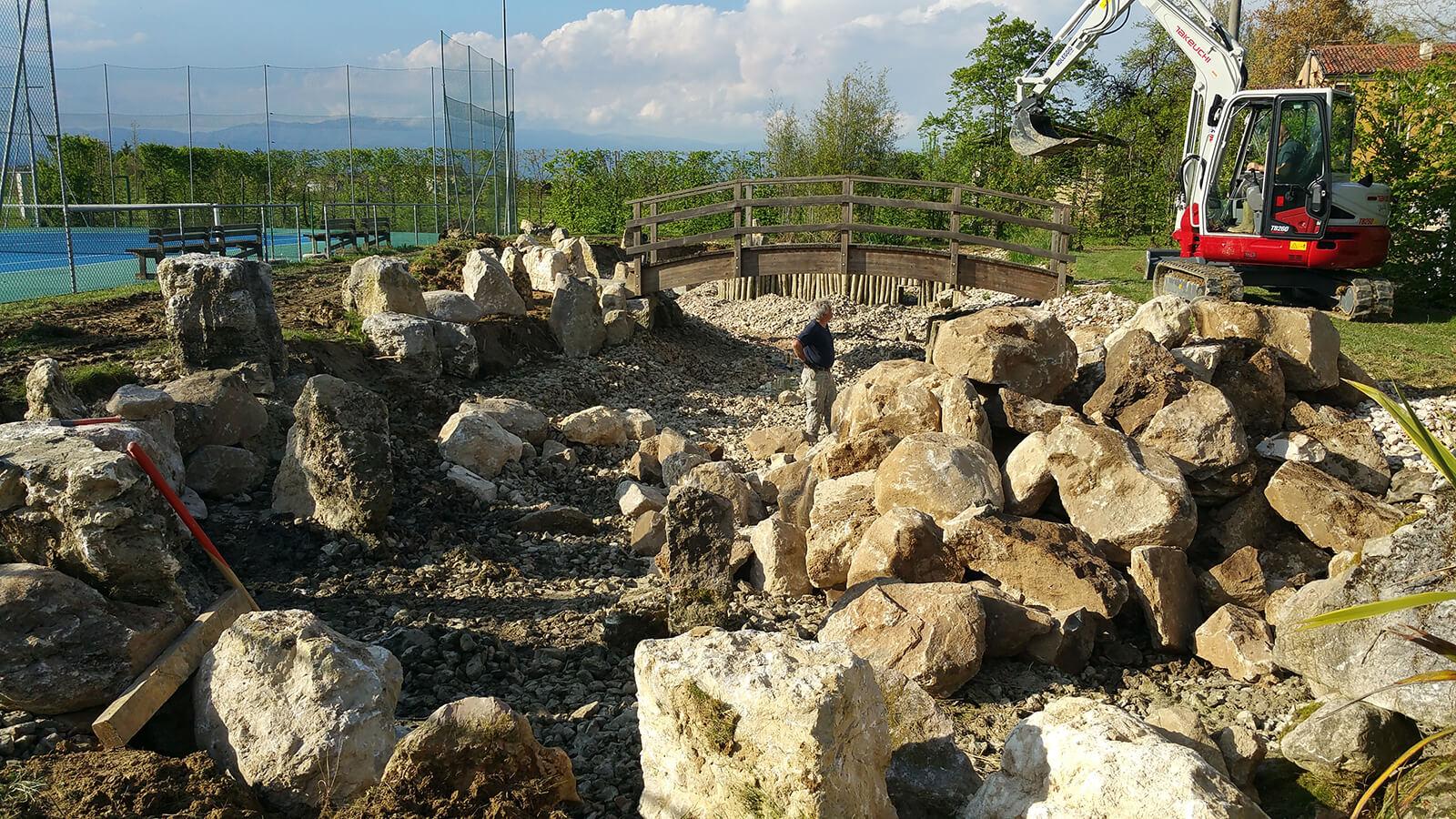 progettazione realizzazione giardini monticello conte otto - verde blu giardini 13