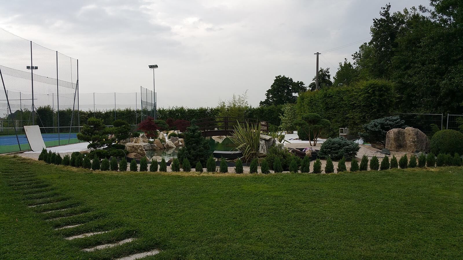progettazione realizzazione giardini monticello conte otto - verde blu giardini 16
