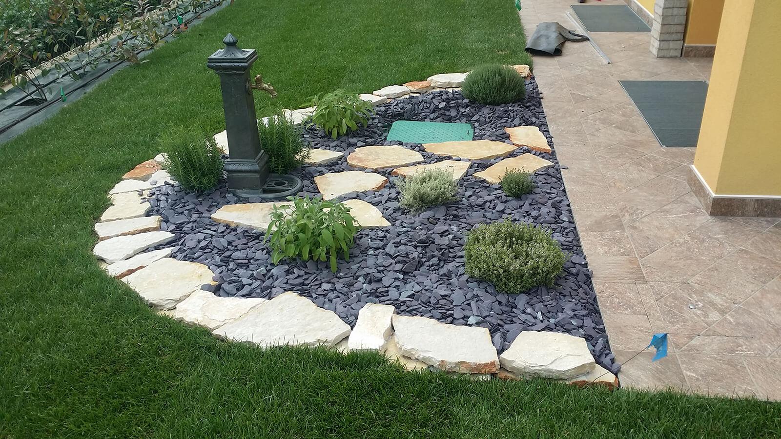 progettazione realizzazione giardini varie - verde blu giardini 8