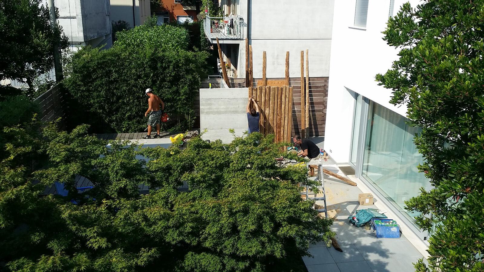 progettazione realizzazione giardini vicenza - verde blu giardini 1
