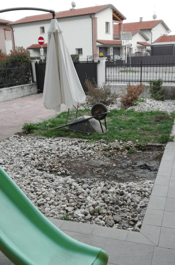 Progetto 20 Cavazzale - rifacimento piccolo giardino